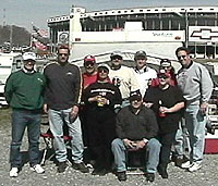 Bristol with friends, March 2002